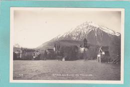 Old Postcard Of Spiez Mit Niessen,Lake Thun, Berne,Switzerland.V19. - BE Berne