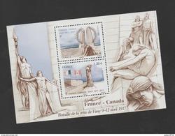 FRANCE / 2017 / Y&T N° 5136/5137 ** En Bloc Ou F5136 ** : Mémorial De La Crête De Vimy - Gomme D'origine Intacte - Nuevos