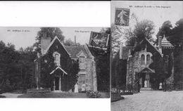 AUFFARGIS (Yvelines) - Lot De 2 CPA De La VILLA DUGRAPREZ - Scannées Individuellement - Voyagées - Auffargis