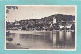 Old Postcard Of Spiez ,Lake Thun, Berne,Switzerland.V19. - BE Berne