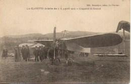 71 LA CLAYETTE (Aviation Des 7,8,9 Avril 1912)  L'Appareil De Grazioli - Francia
