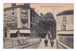 Aulnay Sous Bois. Passage à Niveau. Avec Devanture épicerie Parisienne. (1943r) - Aulnay Sous Bois