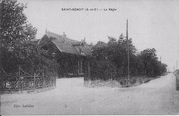 SAINT-BENOIST (Yvelines) - La REGIE - Correspondance - Auffargis
