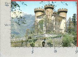 CARTOLINA VG ITALIA - AYMAVILLES (AO) - Il Castello - 10 X 15 - ANN. 1970 CODICE AVVIAMENTO POSTALE - Italia