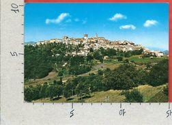 CARTOLINA VG ITALIA - ORATINO (CB) - Panorama - 10 X 15 - ANN. 1972 TASSATA - Campobasso
