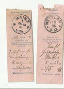 DOK  1889 ,1896 - Allemagne