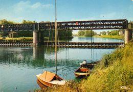 PARMAIN-L ISLE ADAM....le Barrage Sur L Oise..... - Parmain
