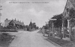 SAINT-BENOIST-AUFFARGIS (Yvelines) - CAFE RESTAURANT Des ROSIERS - Voyagée Le 1er Janvier 1915 - Auffargis