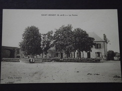 SAINT-BENOIST (Yvelines) - La FERME - Animée - Voyagée - Auffargis