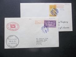Kore, South/USA: 2 1954 Paquebot To USA (#NU6) - Corée Du Sud
