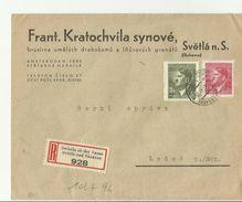B&M 1944  R-CV Svetla Nad Sazavou - Cartas
