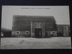 SAINT-BENOIST (Yvelines) - La FERME - La BERGERIE - Non Voyagée - Auffargis