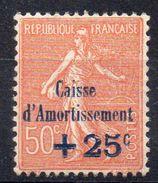 France Frankreich Caisse D'amortissement Y&T 250 ** - Caisse D'Amortissement