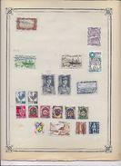 Algérie - Collection Vendue Page Par Page - Timbres Oblitérés - B/TB - Algérie (1924-1962)