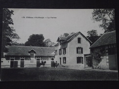 CHÂTEAU D'AUFFARGIS (Yvelines) - La FERME - Cavalier - Animée - Voyagée Le 22 Septembre 1916 - Auffargis