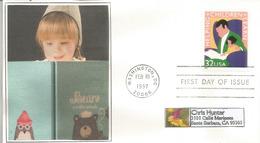 Helping Children Learn, Lettre FDC De Washington - Childhood & Youth