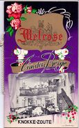 Menu - Prijslijst Liste Des Prix - Restaurant Tea Room -  Melrose Knokke Zoute - Vanden Berge - Menus