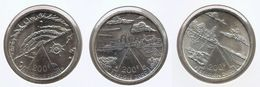 200 Frank 2000 Frans - Vlaams - Duits * MILLENNIUM * F D C * Nrs 9703/05 - 1993-...: Albert II