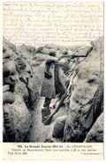 51 GUERRE 1914 15  FORTIN DE BEAUSEJOUR DANS UNE TRANCHEE A 20 M DES BOCHES - France