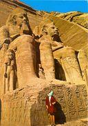 Egypte - Assouan - Temple Abu Simbel - Photo And Copyrights Reserved F.H. Gabra - EG AS 11 - Neuve - - Tempel Von Abu Simbel