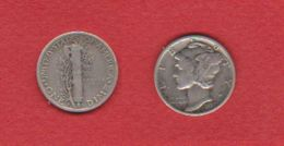 Etats Unis   / 1 Dime 1937 S / KM 140 / TB+ - Bondsuitgaven