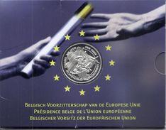 ALBERT II * 500 Frank 2001 * BELGISCH VOORZITTERSCHAP * QP-SET * Nr 9620 - 08. 500 & 5000 Frank