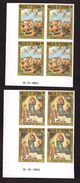 Wallis Et Futuna Rare Coin Daté Non Dentelé Neuf Luxe ** Poste Aérienne PA N° 129 Et 131 Tableau Raphael Peintre - Non Dentelés, épreuves & Variétés