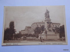 Bucaresti-Statuia I.C Bratianu - Roumanie
