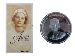 ALBERT II * 250 Frank 1995 * * ASTRID * QP Set * Nr 6155 - 07. 250 Francs