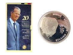 ALBERT II * 250 Frank 1996    BOUDEWIJN * FDC - BLISTER * Nr 9721 - 07. 250 Francs