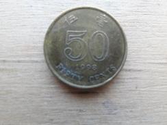Hong Kong    50  Cents  1998  Km 68 - Hong Kong