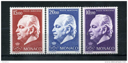 1974 MONACO SERIE COMPLETA MNH** A97-A99 - Posta Aerea