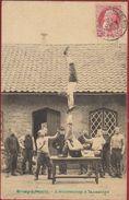 Leopoldsburg Kamp Van Beverloo 1908 Bourg Leopold L' Amusement A La Caserne Kazerne Stamp Leopold II Armee Belge Army - Leopoldsburg (Camp De Beverloo)