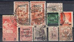 Lote 10 Sellos ITALIA, Sobrecargados, Varios º - 1900-44 Victor Emmanuel III