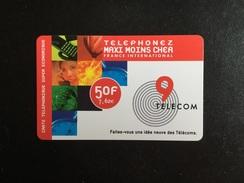 CARTE PREPAYEE 9 TELECOM SANS NUMÉRO - Prepaid Cards: Other