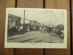 CPA  DJIBOUTI LE SOUK - Djibouti