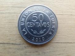 Bolivie  50  Centavos  2010  Km 216 - Bolivia