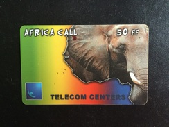 CARTE PREPAYEE AFRICA CALL - Prepaid Cards: Other
