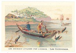 Chromo : Les Animaux Utilisés Par L'homme : Les Cormorans  ( Chine, Chinois ) - Autres