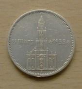 ALLEMAGNE 5 Reichsmark Potsdam 1934 A Avec Date Du 21 Mars 1933 Assez Rare - [ 4] 1933-1945 : Third Reich