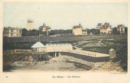 """- Charente Maritime -ref-G498-  """" Le Chay """" Pres Royan - Lrs Cabines - Villas - Villa - Carte Colorisee Bon Etat - - France"""
