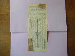 WALINCOURT NORD BELAIR & MIERSMAN MANUFACTURE DE LINGERIE & BONNETERIE 25 RUE DE LA GARE TRAITE DU 24 MARS 1924 - Vestiario & Tessile