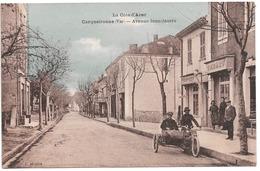 Carqueiranne . - Avenue Jean-Jaurès. - Carqueiranne
