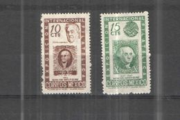 Messico PO 1947 Int.Phil.Exhib.NY  Scott.826+827+ Nuovi See Scan - Mexico