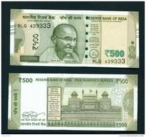 INDIA  -  2017  500 Rupees  UNC - India