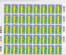 Europa Cept 2000 Denmark 1v Sheetlet (unfolded)  ** Mnh (eubo101) - Europa-CEPT