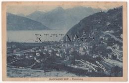 VA10 !!! MACCAGNO SUPERIORE PANORAMA 1931 F.P. !!! - Italy
