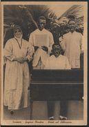 °°° 9152 - SURINAME - GUYANA OLANDESE - ARTISTI NEL LABORATORIO - 1936 °°° - Suriname