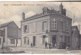 10 Troyes - BAILLY Fruiterie Buvette Rue Des Champs Preize 85.Belle Animation. édit Martinet Datée 1907. Tb état. - Troyes