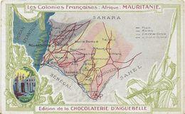 JP ~  CARTE DE LA MAURITANIE  . - Mauretanien